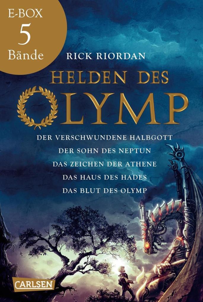 Helden des Olymp: Band 1-5 der spannenden Abenteuer-Serie in einer E-Box! als eBook epub