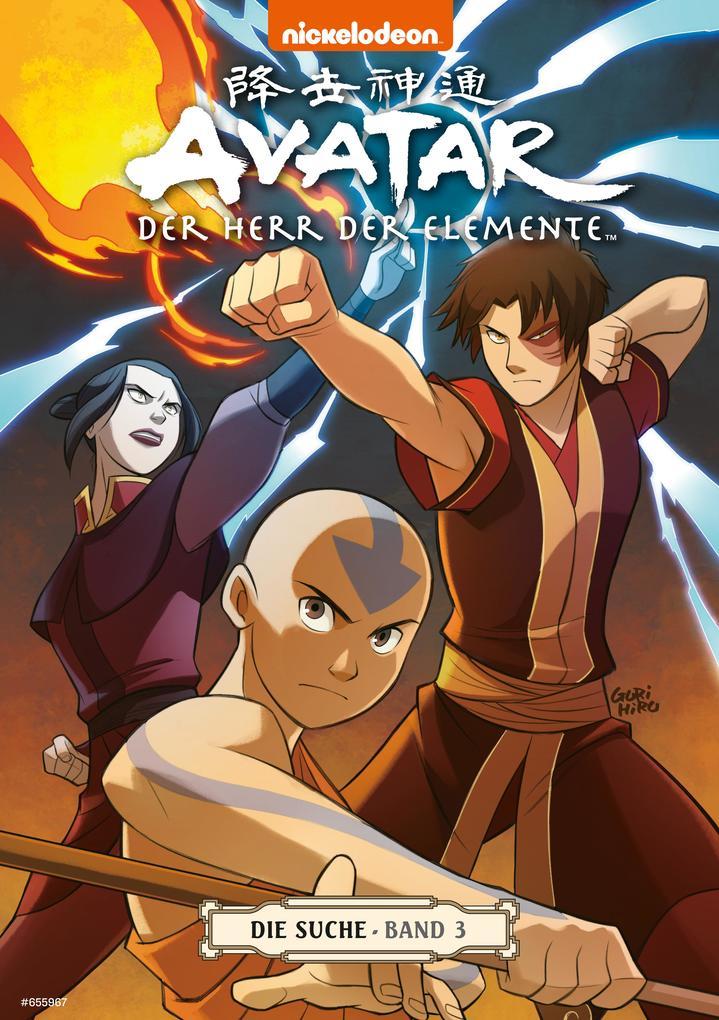 Avatar - Der Herr der Elemente 7: Die Suche 3 als eBook epub