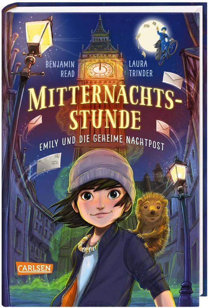 Mitternachtsstunde 1: Emily und die geheime Nachtpost als Buch (gebunden)