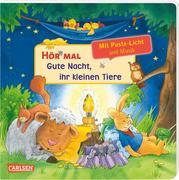 Hör mal (Soundbuch): Mach mit - Pust aus: Gute Nacht, ihr kleinen Tiere - ab 2 Jahren