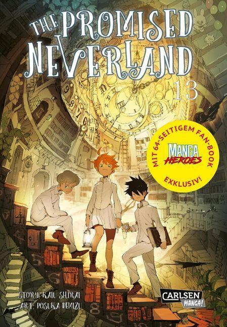 The Promised Neverland 13 - Limitierte Edition als Taschenbuch