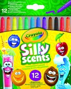 Crayola - Silly Scents - 12 Silly Scents Duftende Twistable Wachsmalstifte