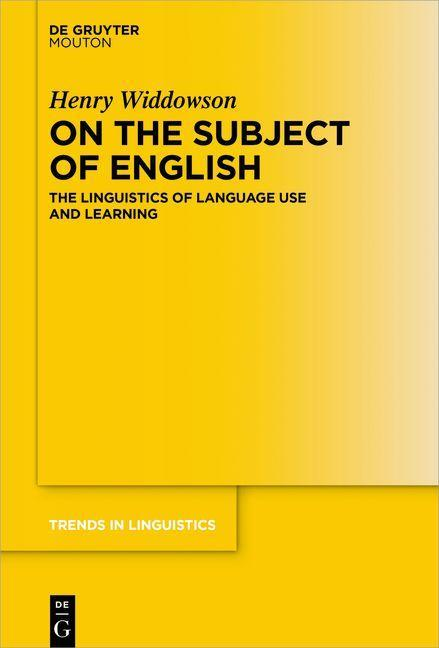 On the Subject of English als eBook epub