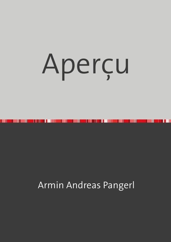 Aperçu als Buch (kartoniert)