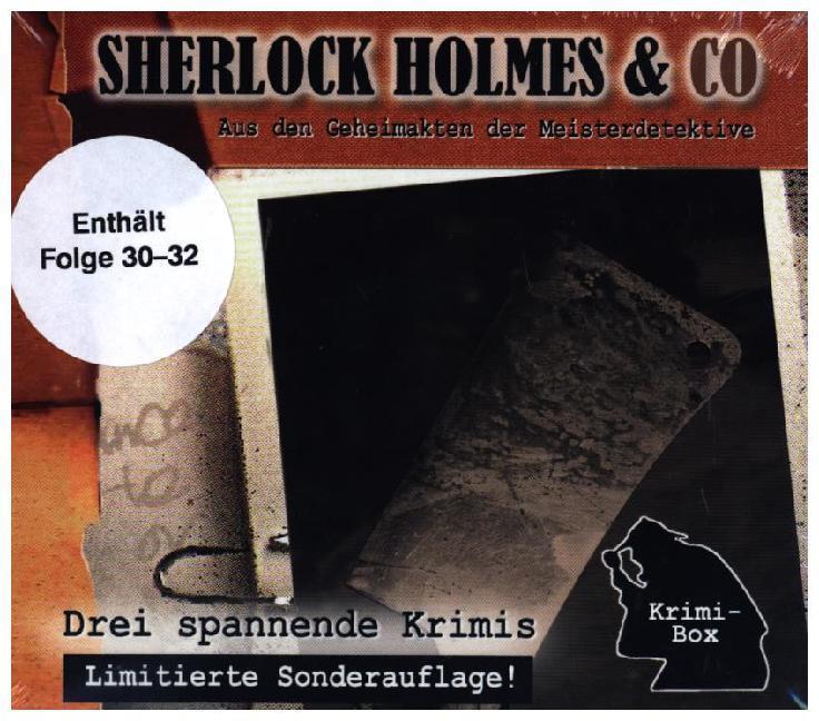 Sherlock Holmes & Co - Die Krimi Box 10 (3CD) als Hörbuch CD