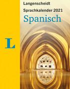 Langenscheidt Sprachkalender Spanisch 2021