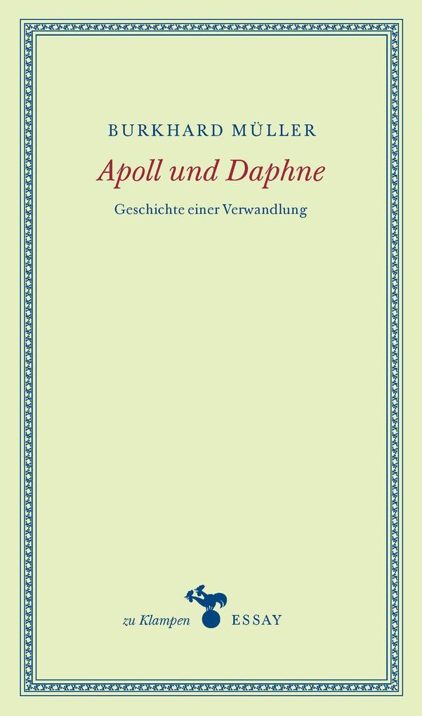 Apoll und Daphne als Buch (gebunden)
