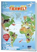 Trötsch Stickerbuch Mein erster Atlas Tierwelt
