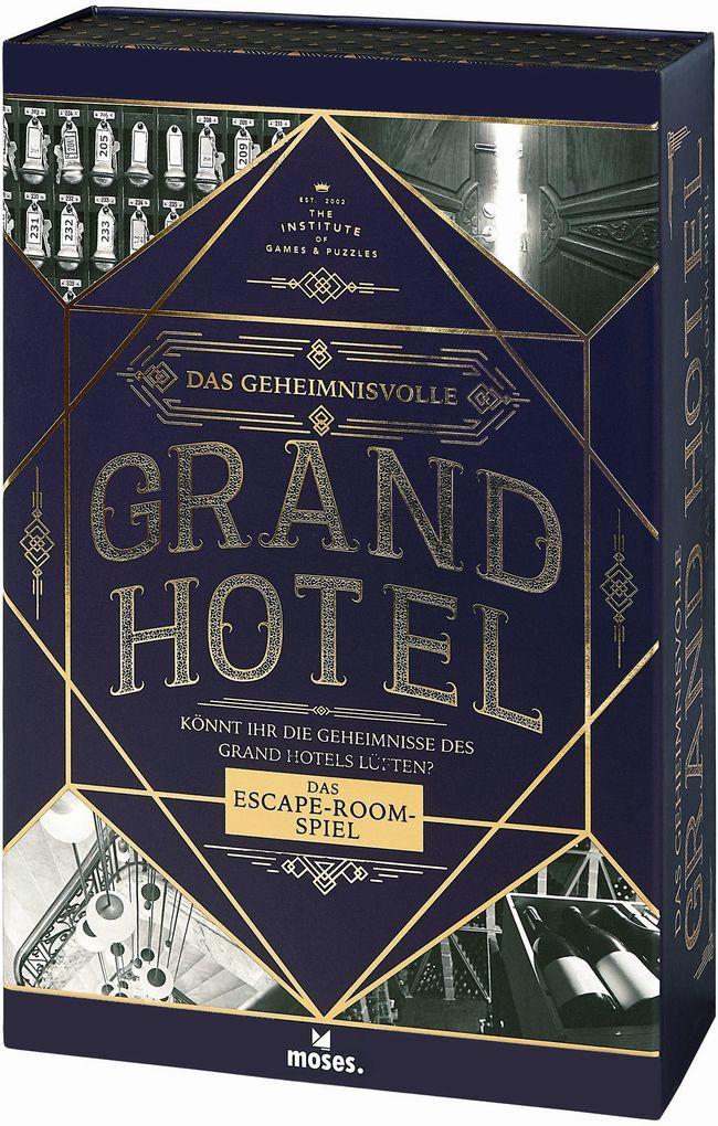 Das geheimnisvolle Grand Hotel als Spielware