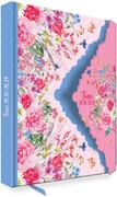 Trötsch Schülerkalender mit Klappe Flower 2020/2021