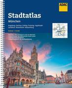 ADAC StadtAtlas München mit Augsburg, Dachau, Erding, Freising, Ingolstadt 1:20 000