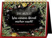 Rahmen-Tischkalender - Die ZEIT - Was meinen Advent reicher macht