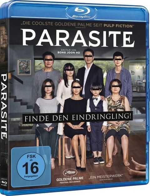 Parasite als Blu-ray
