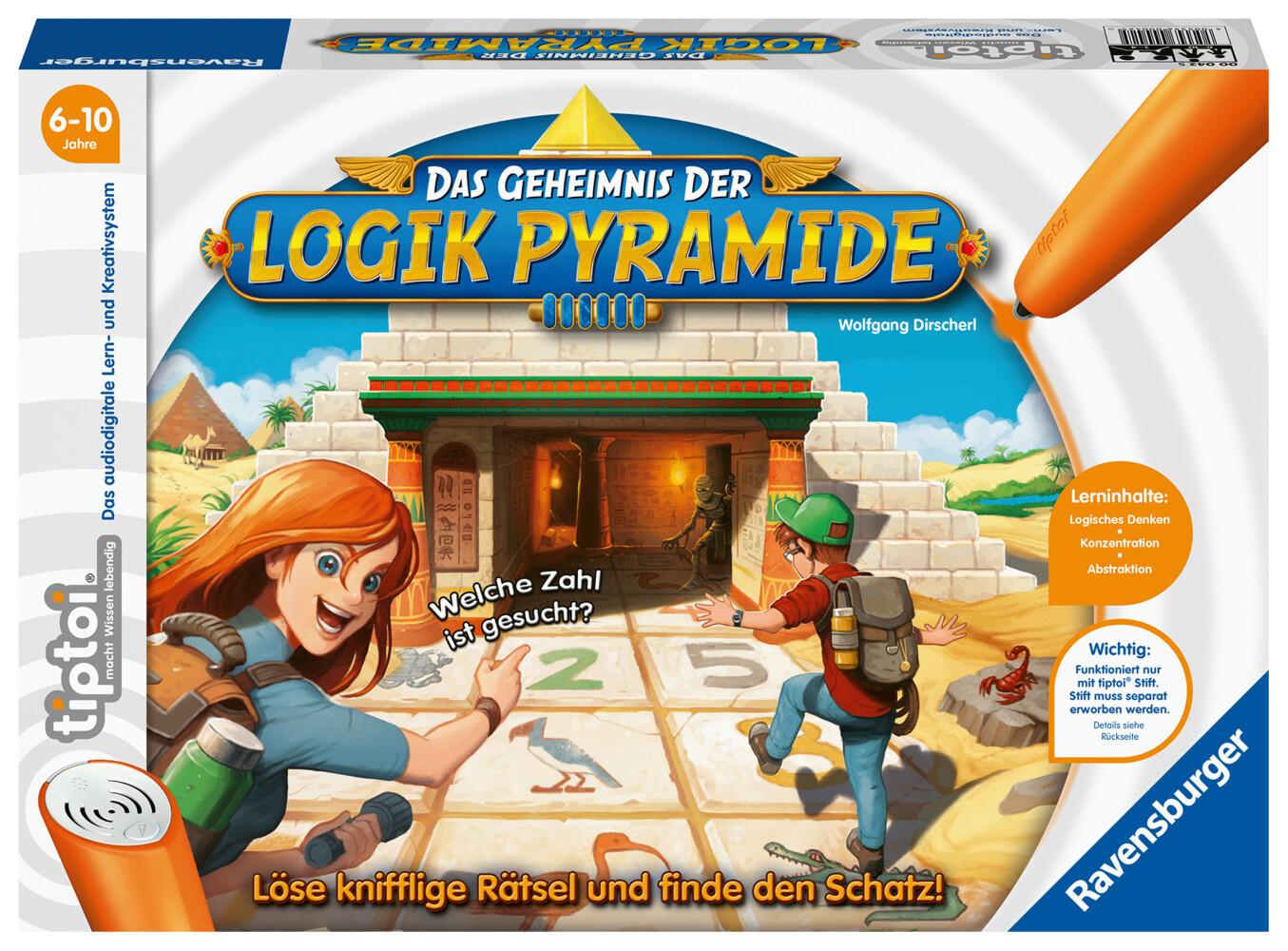 tiptoi - Das Geheimnis der Logik-Pyramide als Spielware