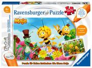 Ravensburger Spiel - tiptoi - Biene Maja Puzzle, 2x24Teile