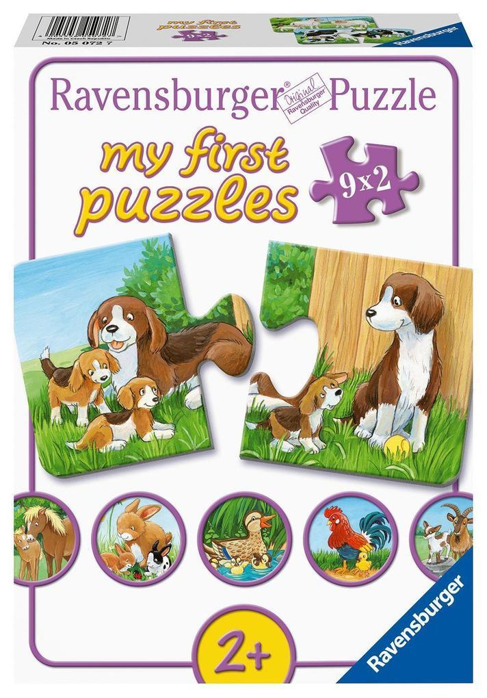 Tierfamilien auf dem Bauernhof als Spielware