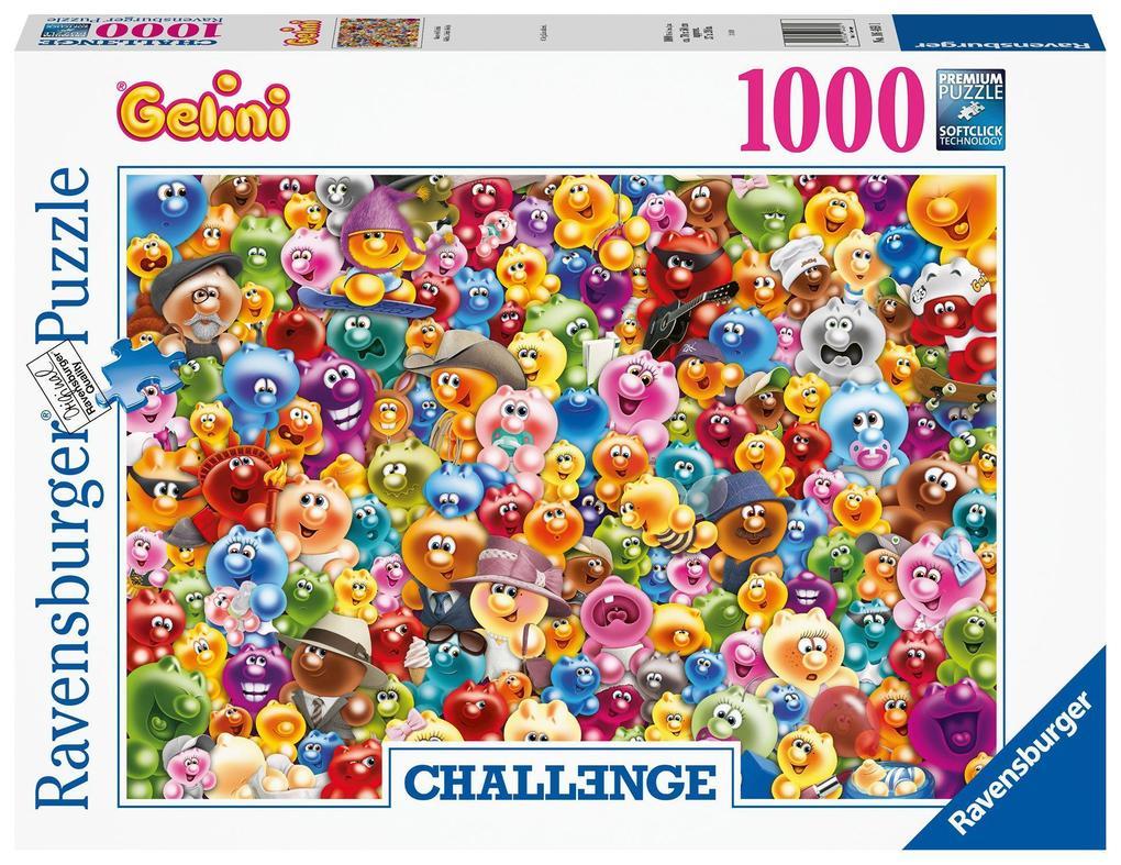 Ravensburger Spiel - Ganz viel Gelini, 1000 Teile als Spielware