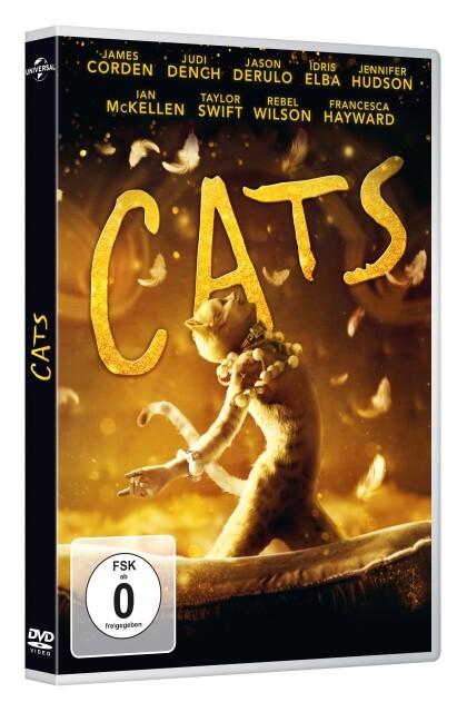 Cats (2019) als DVD
