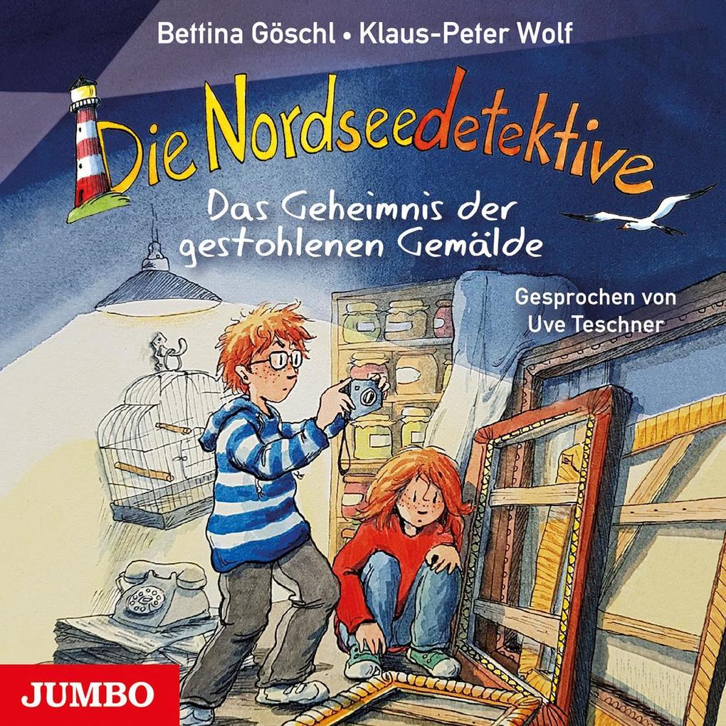 Die Nordseedetektive. Das Geheimnis der gestohlenen Gemälde [8] als Hörbuch CD