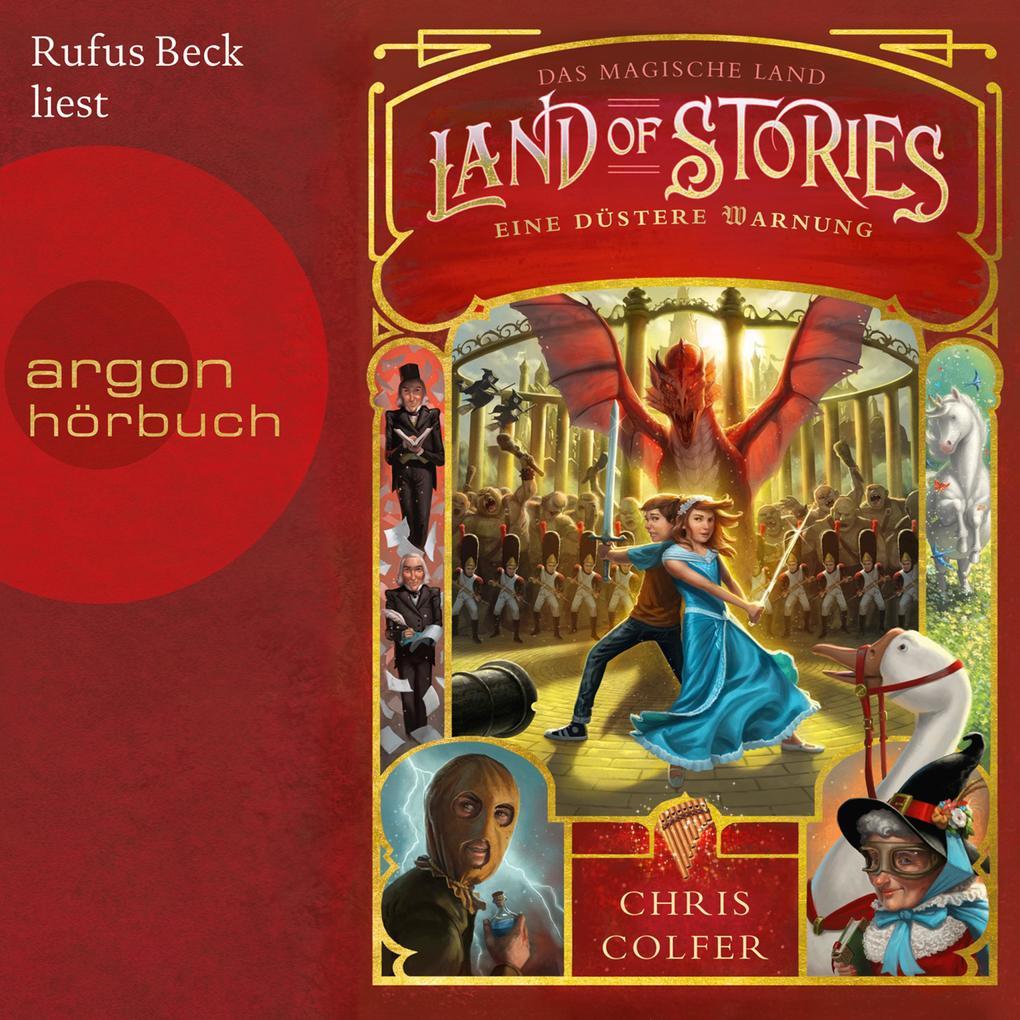 Das magische Land - Eine düstere Warnung, Band 3: Land of Stories (Ungekürzte Lesung) als Hörbuch Download