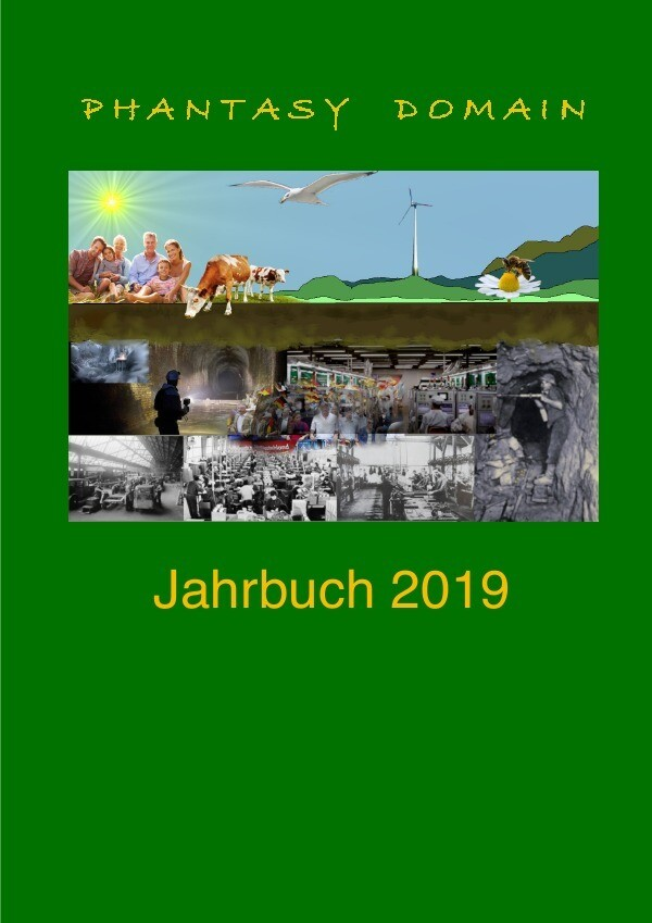 Phantasy-Domain Jahrbuch 2019 als Buch (kartoniert)