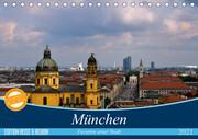 München - Facetten einer Stadt (Tischkalender 2021 DIN A5 quer)