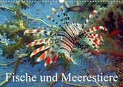 Fische und Meerestiere (Wandkalender 2021 DIN A3 quer)