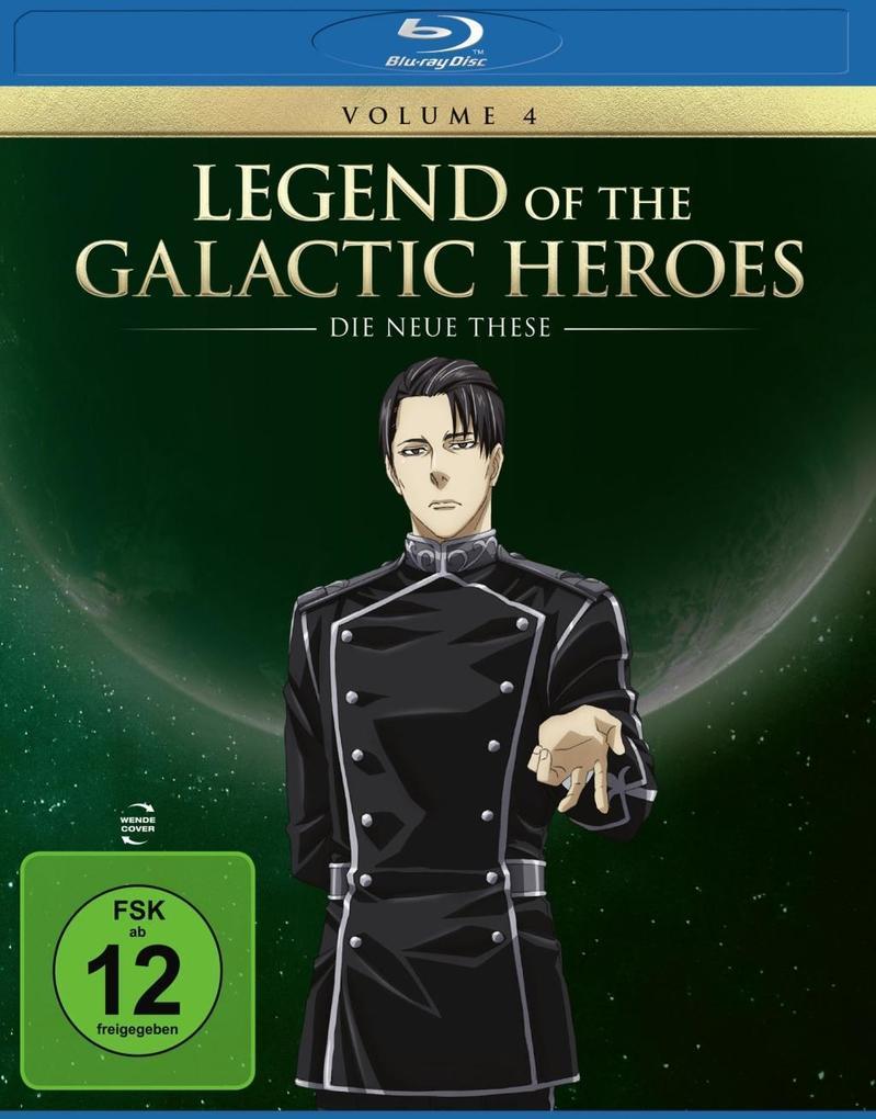 Legend of the Galactic Heroes: Die Neue These Vol. 4 BD als Blu-ray