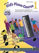 Alfred's Kid's Piano Course, Bk 1: The Easiest Piano Method Ever!, Book & Online Video/Audio