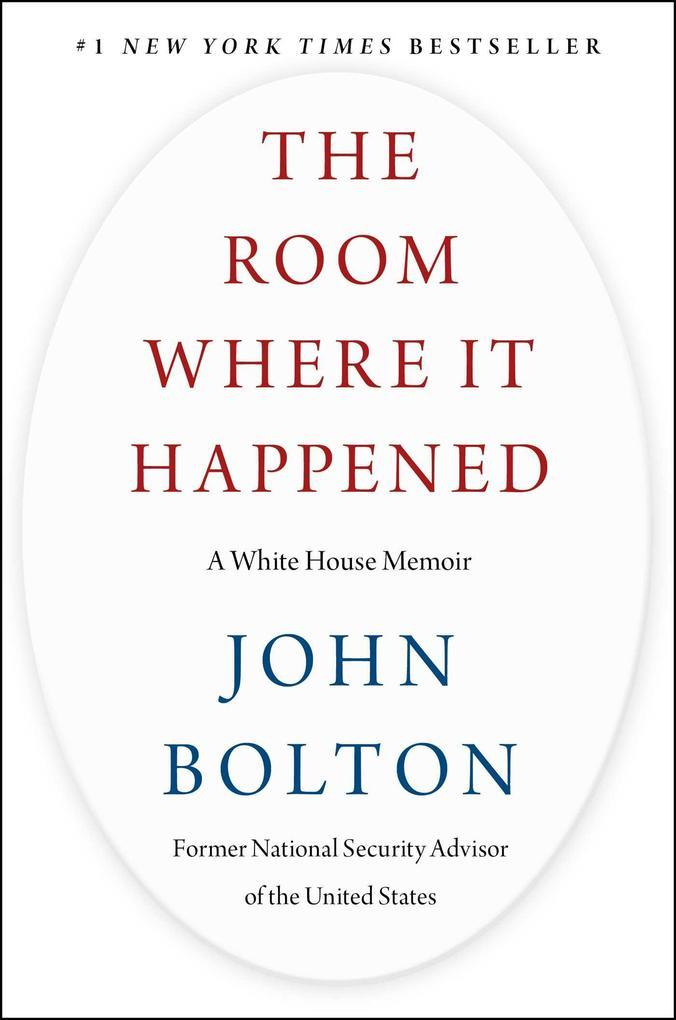 The Room Where It Happened als Buch (gebunden)