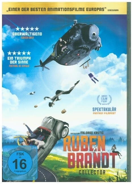 Ruben Brandt, Collector als DVD