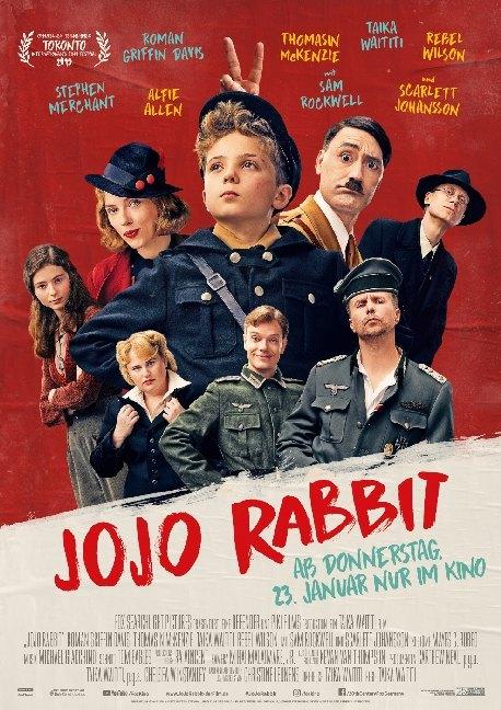Jojo Rabbit, 1 DVD als DVD