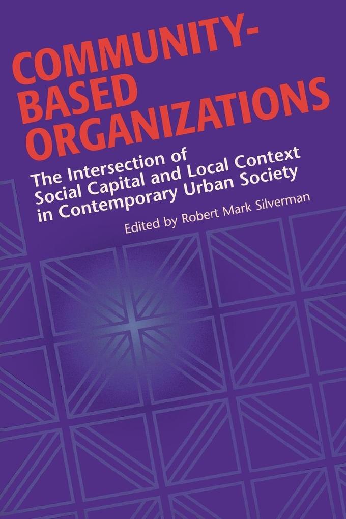 Community-Based Organizations als Taschenbuch von