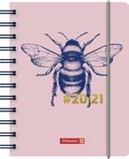 BRUNNEN 1071750021 Tageskalender/Schülerkalender 2020/2021 Harmony, Bumblebee