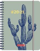 BRUNNEN 1071850021 Wochenkalender/Schülerkalender #Harmony, Cactus