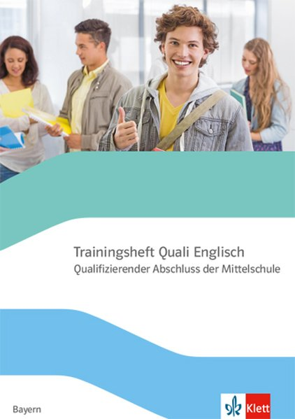 Trainingsheft Abschlussprüfung Englisch mit Audio-CD. Quaifizierter Abschluss der Mittelschule Bayern als Buch (kartoniert)