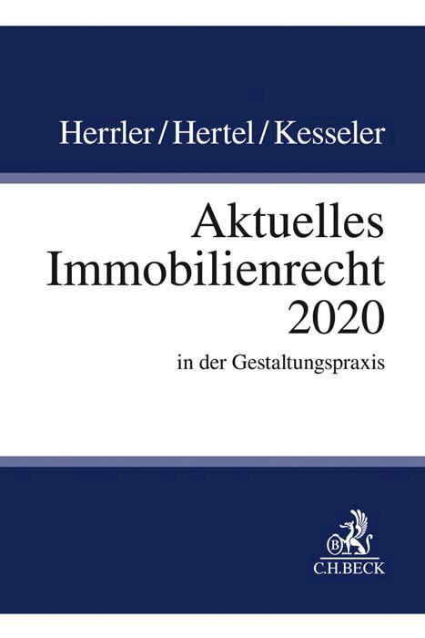 Aktuelles Immobilienrecht 2020 als Buch (kartoniert)