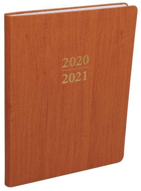 2021 Large Wood Planner als Buch (kartoniert)