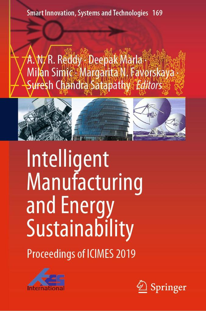 Intelligent Manufacturing and Energy Sustainability als eBook pdf