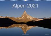 Alpen (Wandkalender 2021 DIN A3 quer)