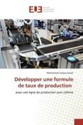 Développer une formule de taux de production