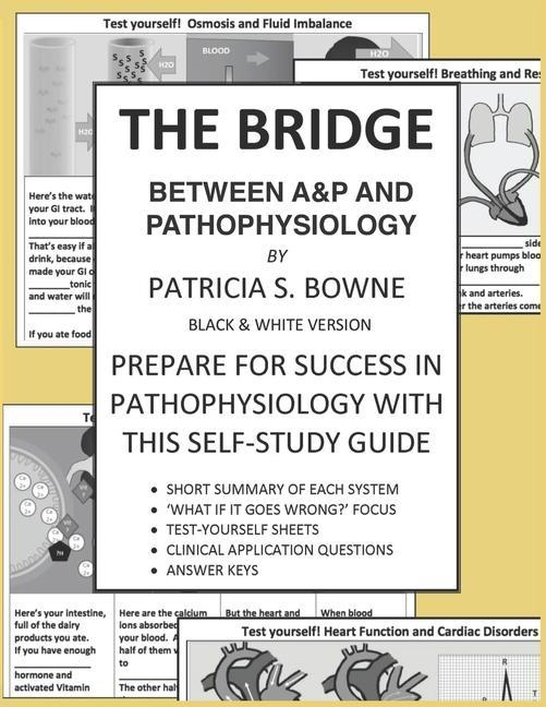 The Bridge Between A&P and Pathophysiology black and white version: Prepare for Success in Pathophysiology als Taschenbuch