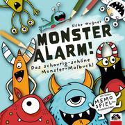 Monster-Alarm! Das schaurig-schöne Monster-Malbuch für Kinder ab 3 Jahre