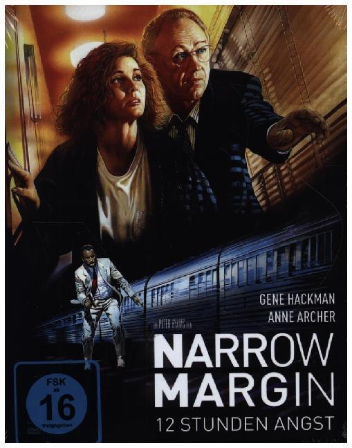 Narrow Margin - 12 Stunden Angst (Mediabook, Blu-ray + DVD) als Blu-ray
