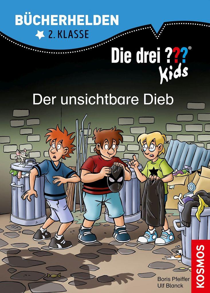Image of Die drei ??? Kids Bücherhelden 2. Klasse Der unsichtbare Dieb
