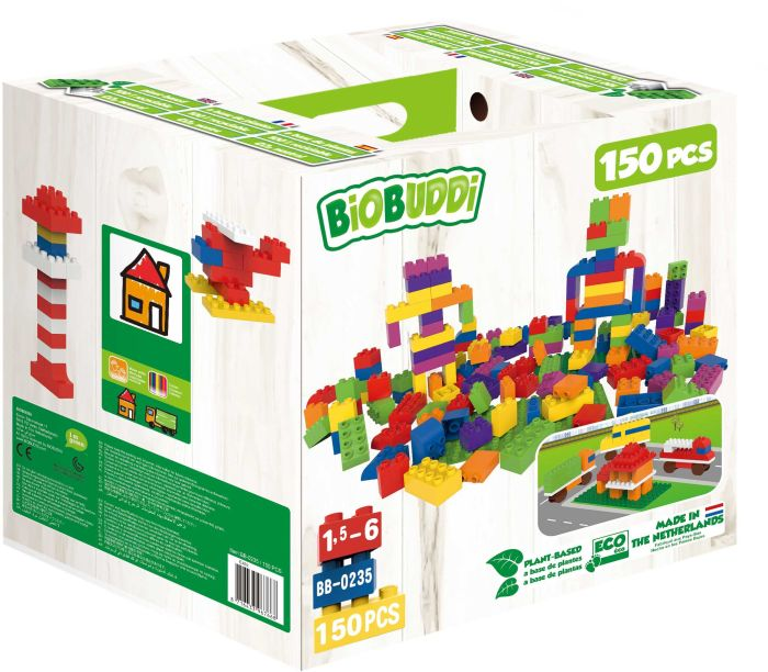 Image of BiOBUDDi Bausteine-Set 150-teilig in Box