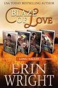 Blaze of Love: A Western Romance Boxset (Firefighters of Long Valley, #0)