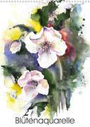 Blütenaquarelle (Wandkalender 2021 DIN A3 hoch)