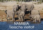 Namibia - Tierische Vielfalt (Tischkalender 2021 DIN A5 quer)