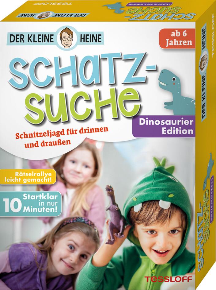 Der kleine Heine. Schatzsuche. Dinosaurier Edition. Schnitzeljagd für drinnen und draußen als Spielware